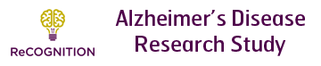 ReCOGNITION Alzheimer's Disease research study